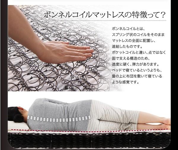 ダブルベッド ベッド ダブル 収納付きベッド 収納ベッド マットレス付き 下収納 ベッド 画像16
