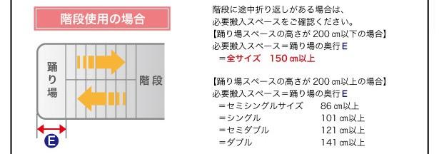 【送料無料】棚・コンセント付きスチールフロアベッド【Legacy】レガシー 画像20