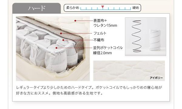収納ベッド 棚 コンセント付き収納ベッド Sleep エス リープ 画像13