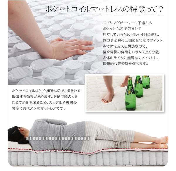 収納ベッド 棚 コンセント付き収納ベッド Sleep エス リープ 画像14