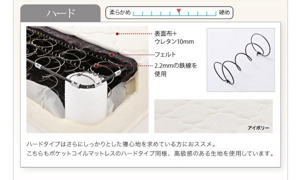 収納ベッド 棚 コンセント付き収納ベッド Sleep エス リープ 画像16