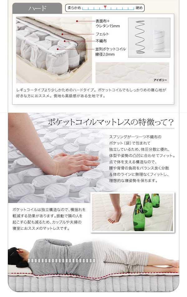 【送料無料】棚・コンセント付き収納ベッド【Umbra】アンブラ 画像10