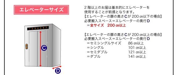【送料無料】棚・コンセント付き収納ベッド【Umbra】アンブラ 画像22