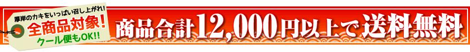 クール便でも12000円以上で送料無料!