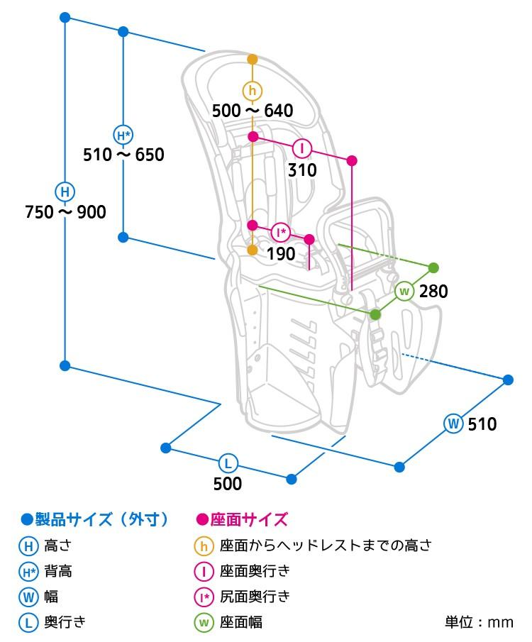 OGK自転車チャイルドシート説明9