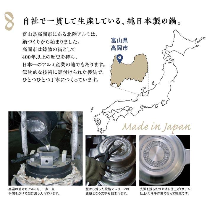 無水調理鍋,北陸アルミニウム