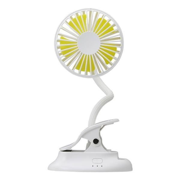 扇風機 クリップ USB ベビーカー 車 携帯扇風機 ハンディファン 卓上扇風機 充電式 持ち運び 静音 小型 おしゃれ ミニ ポータブル モバイル アーム Qurra クルラ coroya 19