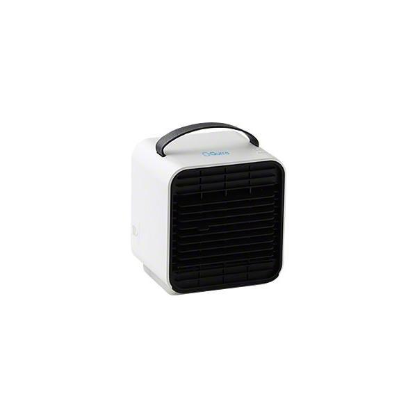ベビーカー 扇風機 延長保証+1年  充電 静音 冷風機 保冷剤 卓上 冷風扇 コンパクト 小型 USB 充電式ミニ ポータブル エアコン クーラー 赤ちゃん Qurra クルラ|coroya|24