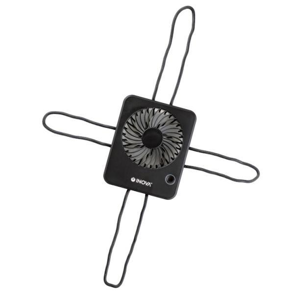 扇風機 ベビーカー ハンディ 車 USB 充電式 静音 静か 強力 卓上 キャンプ 後部座席 赤ちゃん 持ち運び おしゃれ クリップ ハンディファン ポータブル INOVA|coroya|23