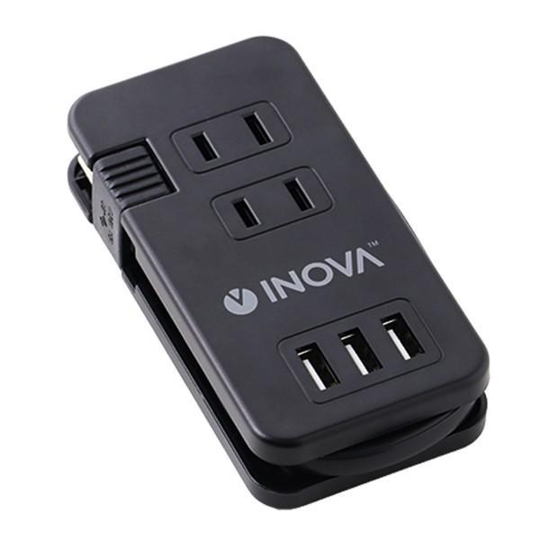 電源タップ USB コンセント ACアダプター おしゃれ 延長コード 急速充電 2口 2ポート 3ポート 3口 iPhone 充電器 アンドロイド スマホ 3.4A INOVA Smacube TAP3|coroya|09