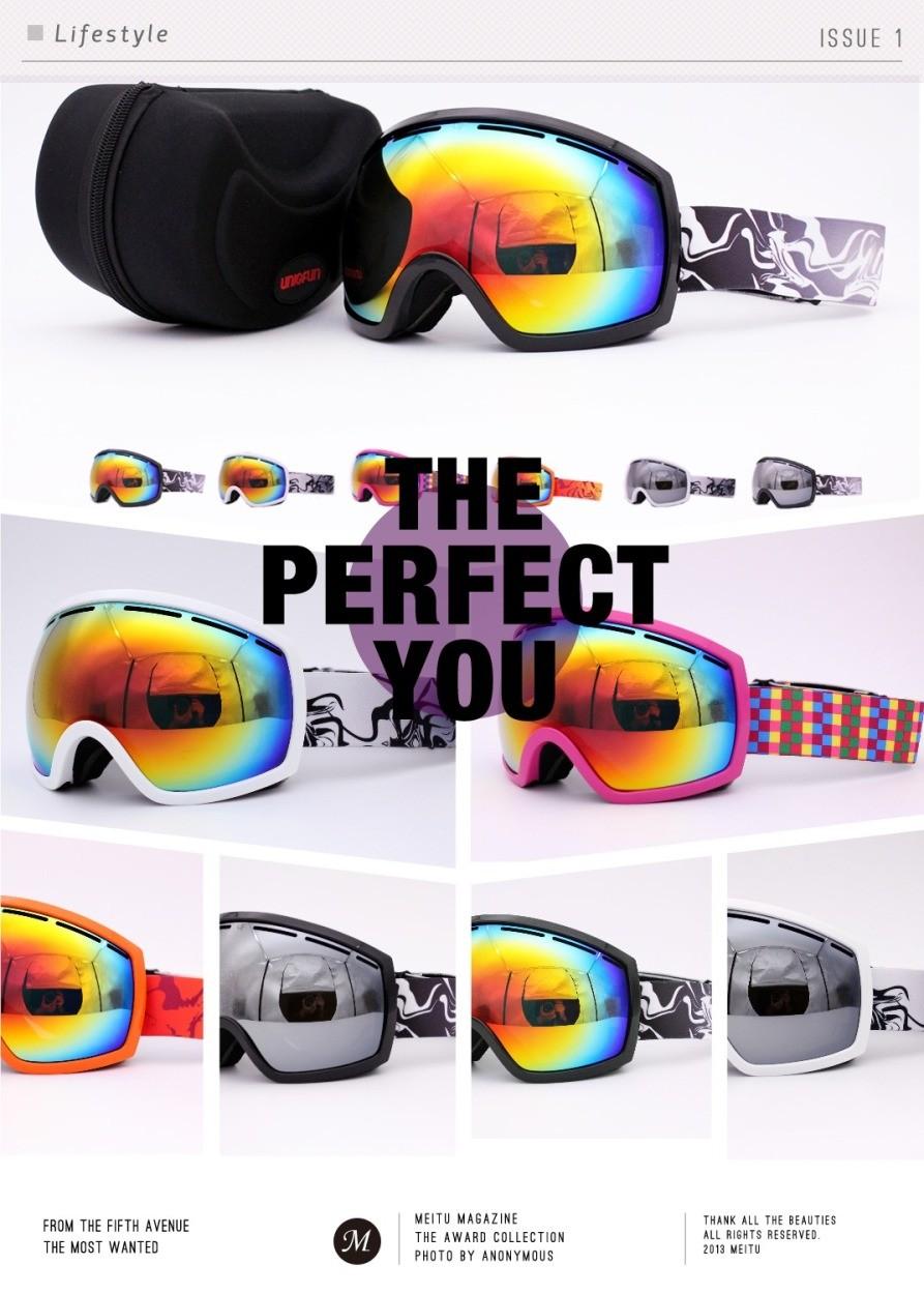 ゴーグル スキー スノーボード hb120