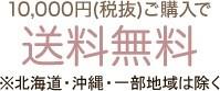 10,000円(税抜)ご購入で送料無料