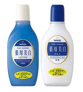 明色 薬用ホワイトモイスチュアローション/ホワイトモイスチュアミルク