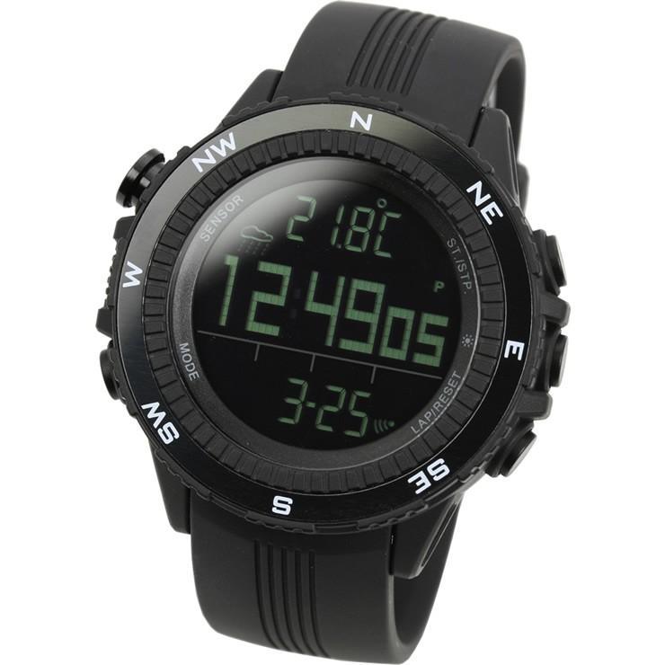 腕時計 メンズ デジタル 時計 温度計 コンパス 気圧計 高度計 アウトドア キャンプ 登山用 courage 07