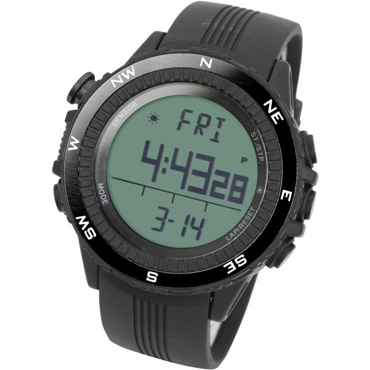 腕時計 メンズ デジタル 時計 温度計 コンパス 気圧計 高度計 アウトドア キャンプ 登山用 courage 08