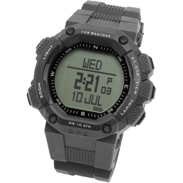 gps機能付き 時計 登山におすすめ 高度計 方位計を搭載したアウトドア 腕時計 メンズ|courage|12