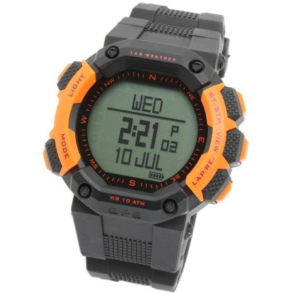 gps機能付き 時計 登山におすすめ 高度計 方位計を搭載したアウトドア 腕時計 メンズ|courage|15