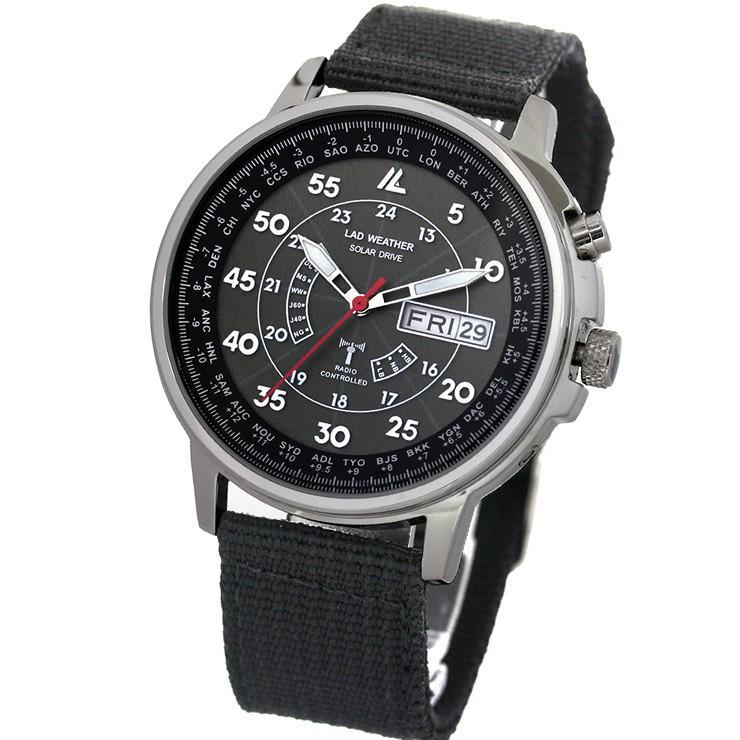 腕時計 メンズ 電波ソーラー腕時計 電波時計 ソーラー 電波 時計|courage|13