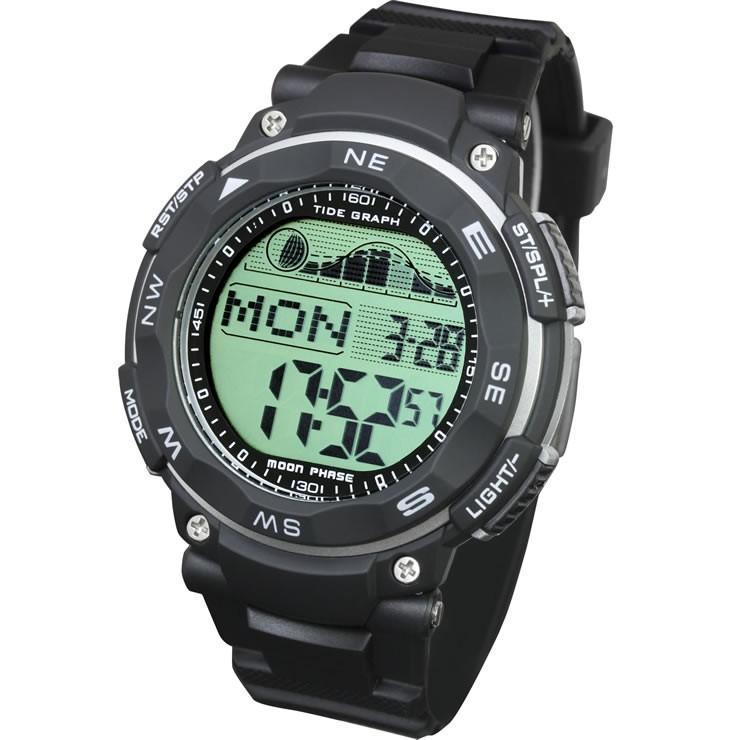 腕時計 メンズ ダイバーズウォッチ スポーツウォッチ 100m 防水 デジタル時計 デジタル 時計 アウトドア 釣り サーフィン|courage|11