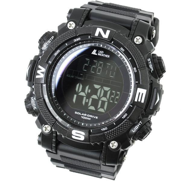 腕時計 メンズ パワー・ソーラー搭載のミリタリーウォッチ デジタル|courage|15
