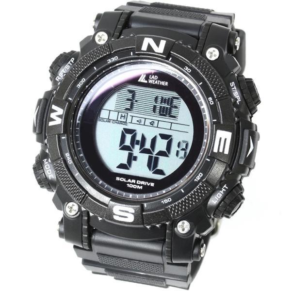 腕時計 メンズ パワー・ソーラー搭載のミリタリーウォッチ デジタル|courage|16