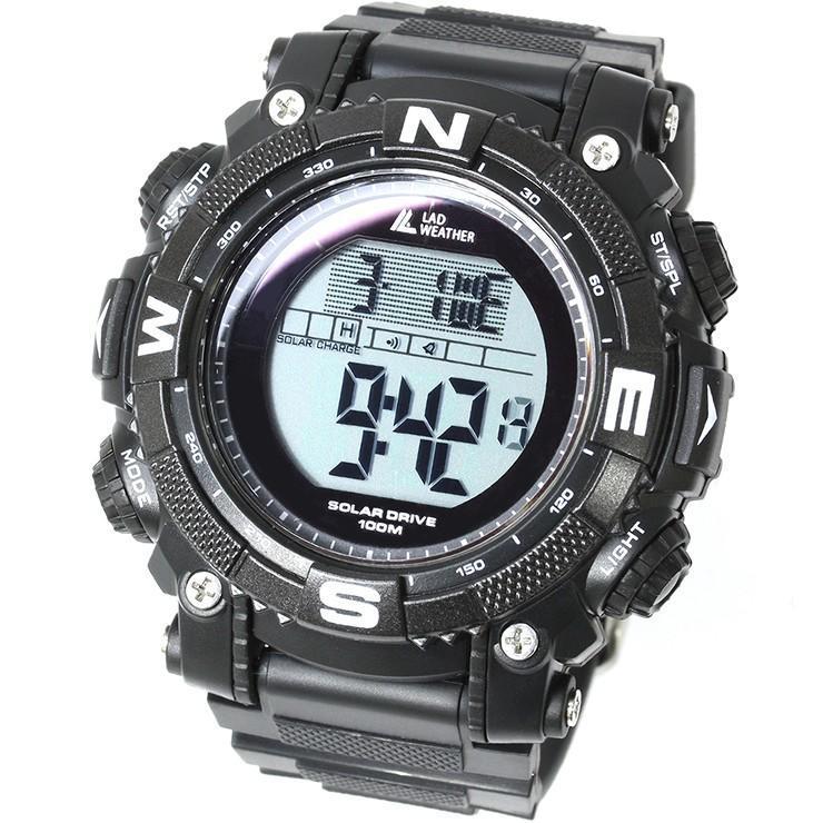 腕時計 メンズ デジタル 時計 ソーラー 100m防水 ミリタリーウォッチ|courage|23