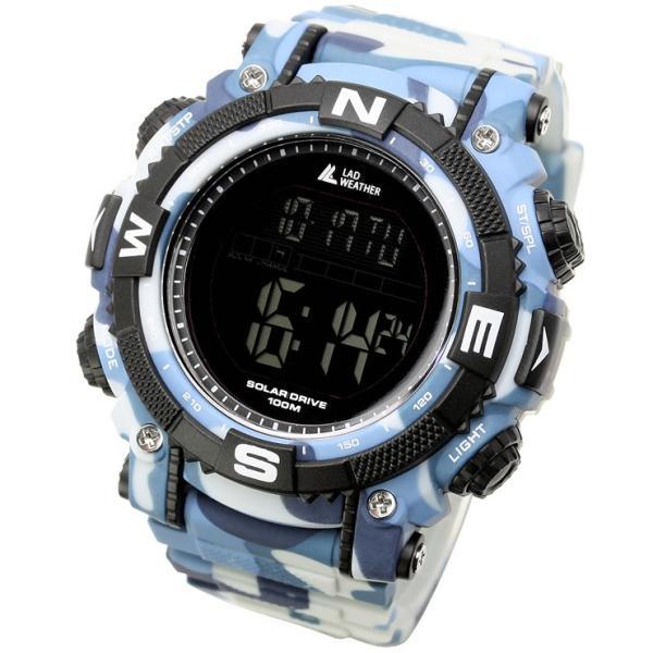 腕時計 メンズ パワー・ソーラー搭載のミリタリーウォッチ デジタル|courage|23