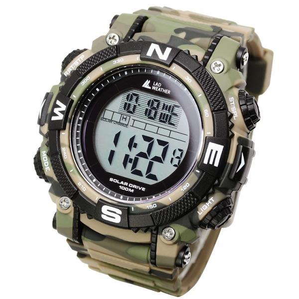 腕時計 メンズ パワー・ソーラー搭載のミリタリーウォッチ デジタル|courage|20