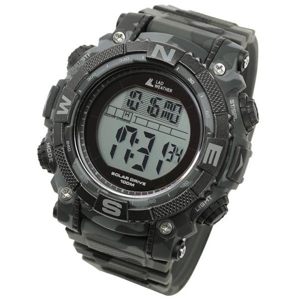 腕時計 メンズ パワー・ソーラー搭載のミリタリーウォッチ デジタル|courage|18