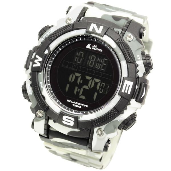腕時計 メンズ パワー・ソーラー搭載のミリタリーウォッチ デジタル|courage|21