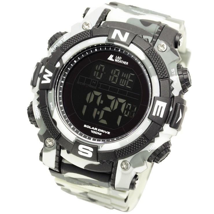 腕時計 メンズ デジタル 時計 ソーラー 100m防水 ミリタリーウォッチ|courage|28