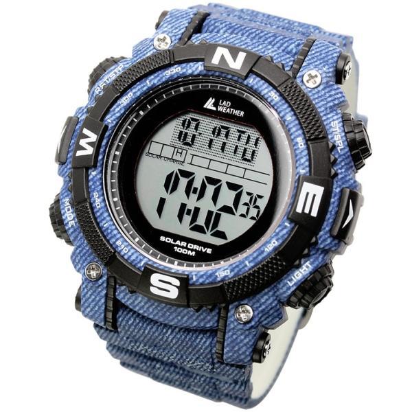 腕時計 メンズ パワー・ソーラー搭載のミリタリーウォッチ デジタル|courage|26