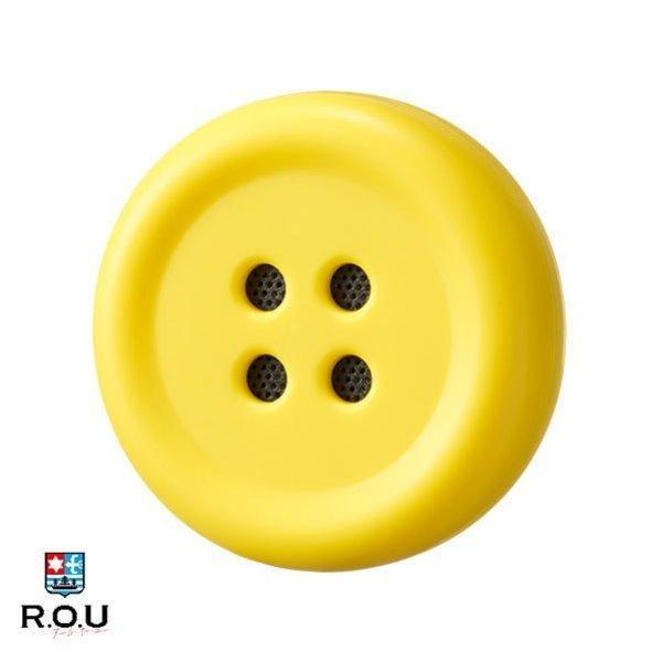 ペチャットPechatぬいぐるみにつけるボタン型スピーカーイエロー|cox-online|02