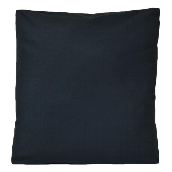 座布団カバー 55×59 おしゃれ 銘仙判 つむぎ調 無地 日本製 綿100% coyoli 09