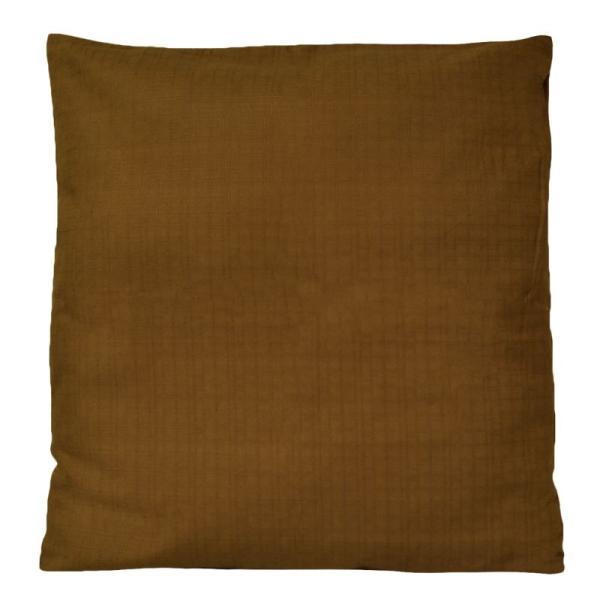 座布団カバー 55×59 おしゃれ 銘仙判 つむぎ調 無地 日本製 綿100% coyoli 10