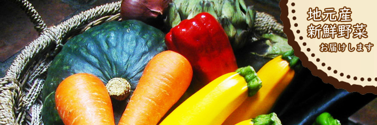 富里市産や千葉県産を中心とした新鮮野菜をお届けします