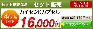 カイゼンEカプセル3袋セット販売