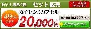 カイゼンEカプセル4袋セット販売