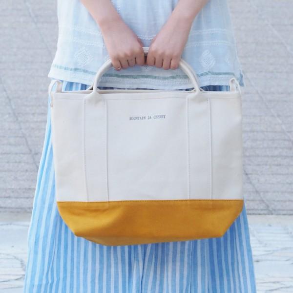 丸洗いOKも!倉敷産帆布を使用した「MOUNTAIN DA CHERRY」の帆布バッグ