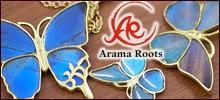 銀工房AramaRoots(アラマルーツ)−京都・大山崎のシルバーアクセサリー作家・加藤心姿さんが手がけるブランド。手の込んだギミックを組み込んだアクセサリーや京都の和柄を生かしたアクセサリーを展開