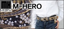 M-HERO(エム ヒーロー) 京都西陣織の金襴(きんらん)和柄ベルト・ブレスレット・アクセサリー