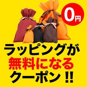 1円引きクーポン(ギフトラッピングが無料に!)