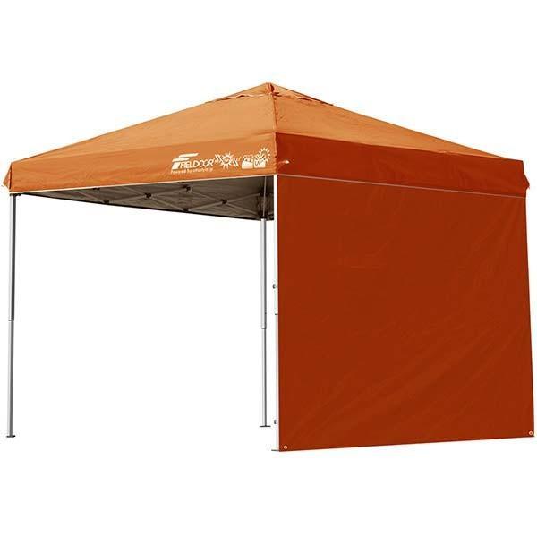 テント タープ タープテント 2.5m 250 ワンタッチ ワンタッチテント 日よけ イベント アウトドア キャンプ バーベキュー UV加工 FIELDOOR 送料無料 crazyprice 09