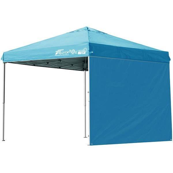 テント タープ タープテント 2.5m 250 ワンタッチ ワンタッチテント 日よけ イベント アウトドア キャンプ バーベキュー UV加工 FIELDOOR 送料無料 crazyprice 12