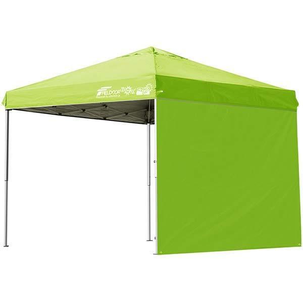 テント タープ タープテント 2.5m 250 ワンタッチ ワンタッチテント 日よけ イベント アウトドア キャンプ バーベキュー UV加工 FIELDOOR 送料無料 crazyprice 13