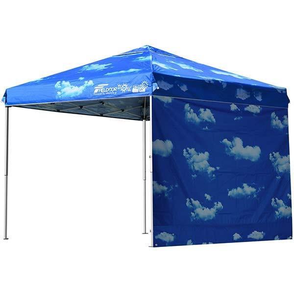 テント タープ タープテント 2.5m 250 ワンタッチ ワンタッチテント 日よけ イベント アウトドア キャンプ バーベキュー UV加工 FIELDOOR 送料無料 crazyprice 20