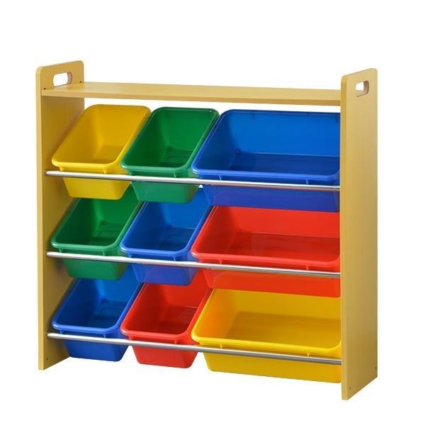おもちゃ 収納 ラック 4段 子供 子ども トイラック キャスター取り付け可 おもちゃ箱 おしゃれ 収納 箱 安全 トイボックス 木製 送料無料 crazyprice 07