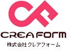 シール印刷の株式会社クレアフォームのロゴ