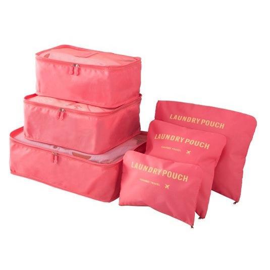 トラベルポーチ 旅行 6点セット 収納 大容量 旅行用 出張 整理用 軽量 防水 メンズ レディース 旅行用品 ポイント消化|creez|14