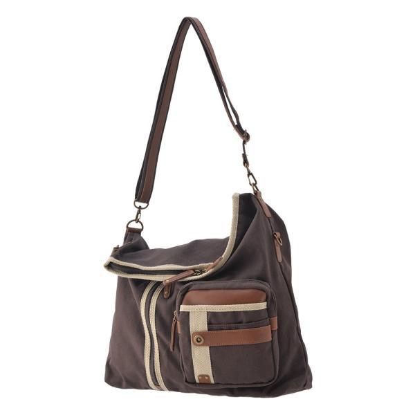 メンズ ショルダーバッグ 2Wayバッグ メッセンジャーバッグ バッグ 口折れ 斜めがけ バック DEVICE かばん 鞄 帆布バッグ A4 ブランド 斜め掛け|crosscharm|16